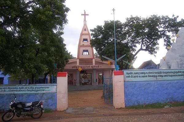 Singamparai Parish - Mylapuram Church