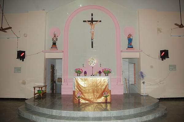 Singamparai Parish - Thalarkulam Church